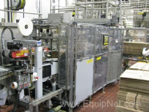 Schneider VCP Bottom Loaded Case Packer - Line 9