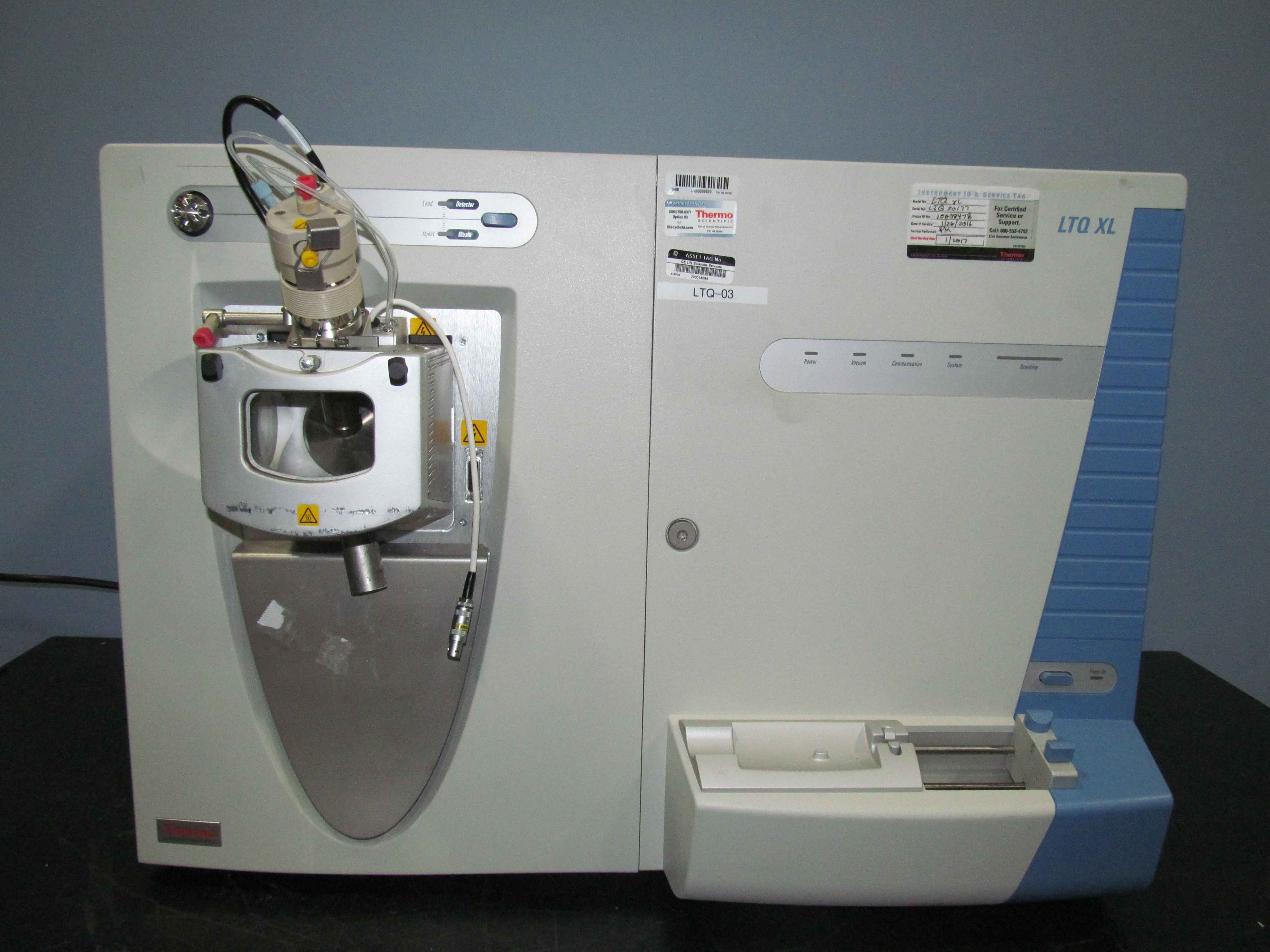 Thermo Electron Corporation LTQ XL Linear Ion Trap Mass Spectrometer