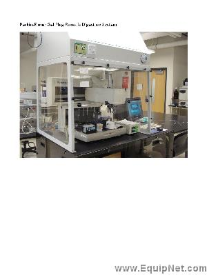 Packard MassPrep Proteome Workstation With Hood