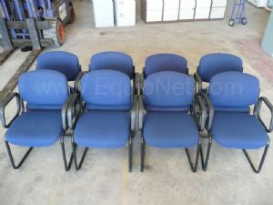 Office chairs - 1 lot of 8