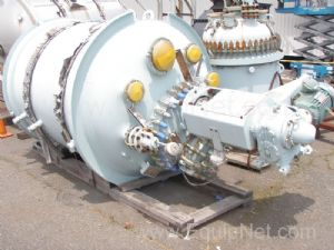 Unused Pfaudler 1000 Gallon Glass Lined Reactor