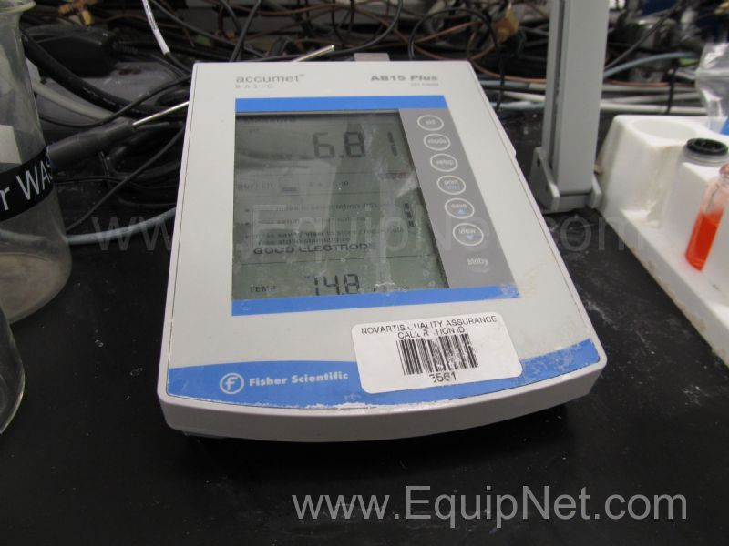 accumet model 15 ph meter manual
