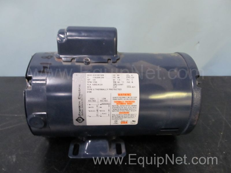 489880 Franklin Electric 3 Hp Motor