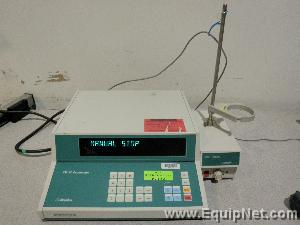 Metrohm Coulometer 737 KF with 703 Ti Stand