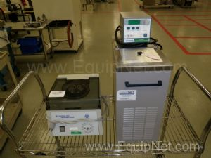 Lot of Lab Equipment Including Centrifuge and Circulator