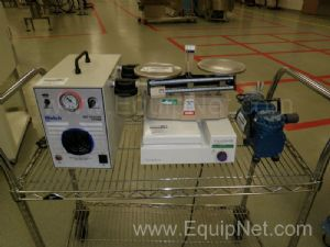Lot of Lab Equipment to Include Vacuum Pumps, Stir Plate, Balance