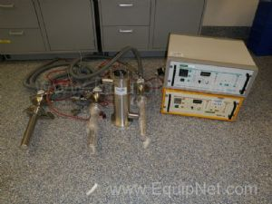 Lot of (3) Telsonics Ultrasonic Probes with (2) Generators