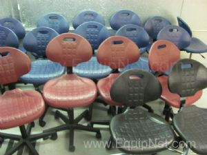Lot of ( 20 ) Bevco Polyurethane Lab Chairs