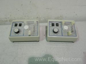 Lot of 2 VWR Scientific Mini-Pump Variable Flow Peristaltic Pumps