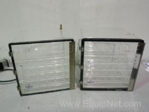 Lot of 2 Nalgene 5317-0120 Dessicator Cabinets