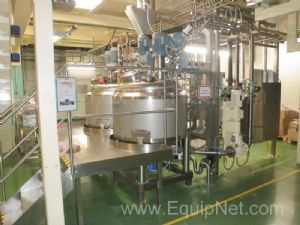 Kates Olsztyn 2x3M06 Automated Skid mounted Stainless steel Double vessel Caramel Cooking System