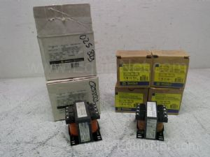Lot of 6 Square D Industrial Control Transformers