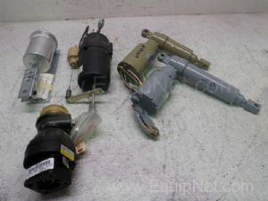 Lot of 5 Assorted Pneumatic Actuators