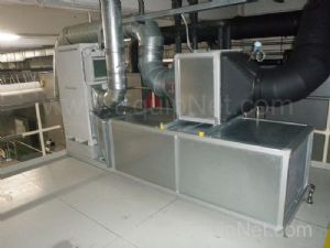Munters and Weger Combined Air Handling and De humidification skid for Aasted Moulding Plant