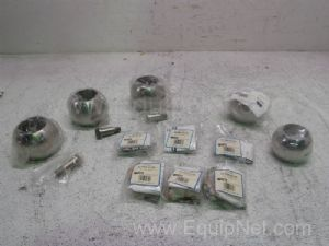 Lot of 11 Ball & Stem Kits for Ball Valves