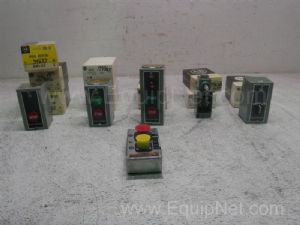 Lot of 10 Start/Stop Push Buttons/Switches