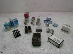 Lot of 24 Assorted Power Relays