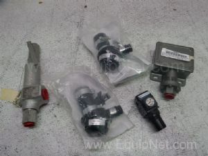 Lot of 5 Assorted Pressure Switches