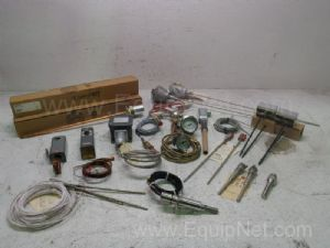 Lot of Assorted Temperature Probes
