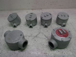 Lot of 6 Appleton Hazardous Location Conduit Outlet Boxes