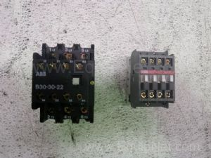 Lot of 2 Asea Brown Boveri Contactors