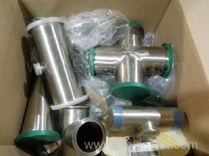 Lot of Assorted Stainless Pipes