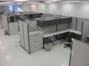 Lot of 9 Knoll Office Cubicles