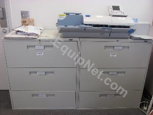 Lot of (4)Global 3 Draw Lateral File Cabinets