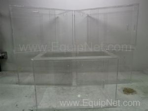 Lot of 5 Lexan Enclosures