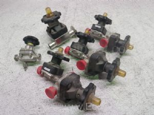 Lot of 5 Assorted Actuator Valves