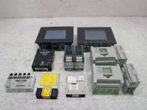Lot of 10 Miscellaneous Control Panels & Electrical Equipment