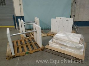 Lot of 5 Antivibration tables
