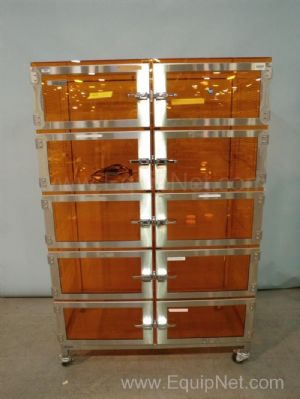 Terra Universal Amber Acrylic 10 Unit Desiccating Cabinet