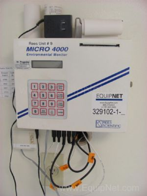 Reese Scientific Micro 4000 Environmental Monitor