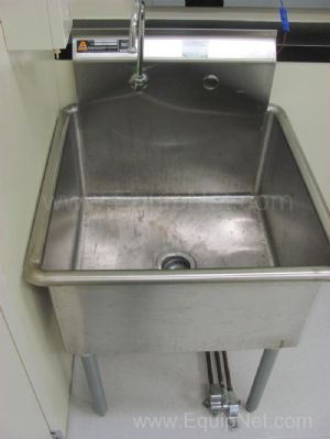Lot of (2) Assorted Stainless Steel Sinks