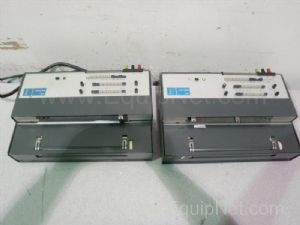 Lot of 2 Kipp & Zonen BD111 Dual-Pen Linear Chart Recorders