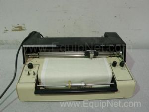 Fisher Recordall Series 5000 Linear Chart Recorder