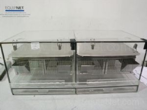 Custom Lexan and Wire Mesh Benchtop Rodent Cage