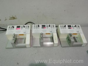 Lot of 3 CMA 100 3-Channel Microinjection Pumps