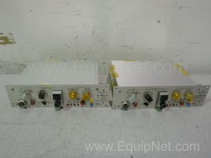 Lot of 2 Grass Instruments 7P1G Low-Level D.C. Pre-Amplifiers for Polygraph System