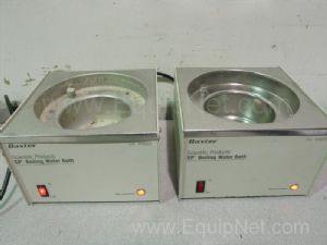 Lot of 2 Baxter Scientific W3022 Boiling Water Baths