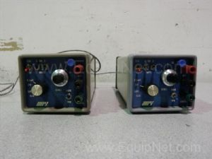 Lot of 2 WPI 305-B Electrical Impulse Stimulators