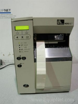 Zebra 105SL Thermal Barcode Label Printer