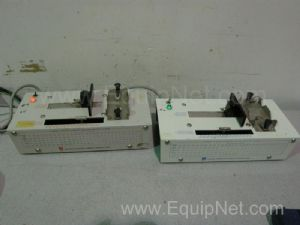 Lot of 2 Harvard Apparatus 975 Dual-Channel Syringe Infusion Pumps