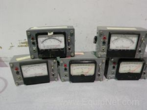 Lot of 5 YSI 43-TA Tele-Thermometers