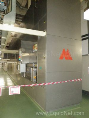 Aasted Mikrowerk 1000 14 inch Complete Automated Chocolate Moulding Line with Frozen cone facility