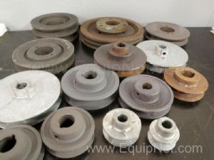 Lot of 14 Assorted Pulleys