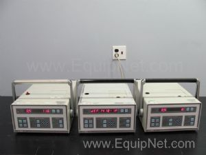 Lot of 3 Hach Ultra Analytics A2408-1-115-1 Met One Laser Particle Counters