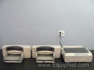 Lot of 3 Assorted Printers