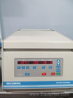 Beckman GS-15R Refrigerated Benchtop Centrifuge